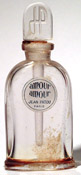 Photo of bottle of 'Amour Amour' perfume by Jean Patou