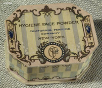 California Perfume Company Flavoring Extract bottle, c1898-1906