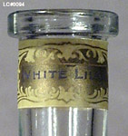 California Perfume Company White Lilac - Detail of Bottle Neck