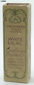 California Perfume Company White Lilac - front of box