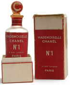 Mademoiselle Chanel No.1 perfume bottle and box