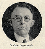 Photograph of Volney Chapin Daggett, co-founder of Daggett & Ramsdell  Cosmetics Co.